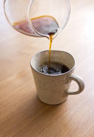コーヒーのお手伝いいたします。